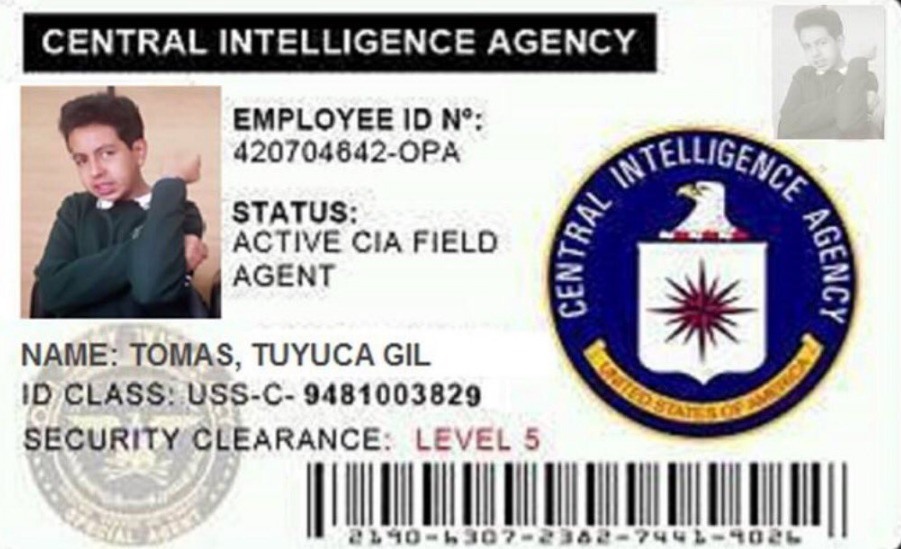 CIA 1, carnet