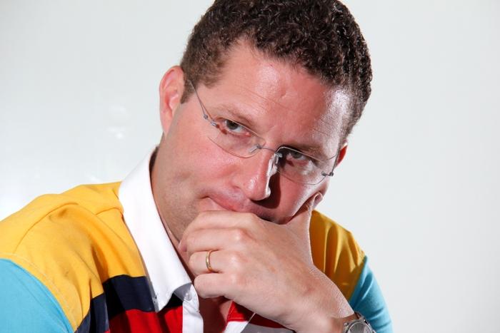 Guayaquil, 22 Enero 2013.- ACTUALIDAD. Entrevista a Mauricio Rodas sobre su candidatura presidencial..... Carlos Barros/EL UNIVERSO.
