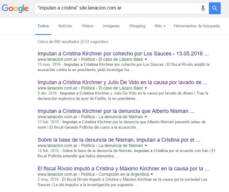 argentina, imputan a cristina