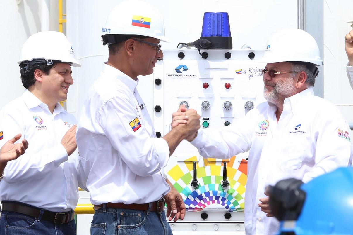 refinería esmeraldas inauguración 1 ed