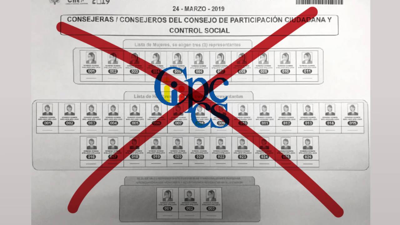 Por qué hay que anular el voto por el CPCCS – 4pelagatos